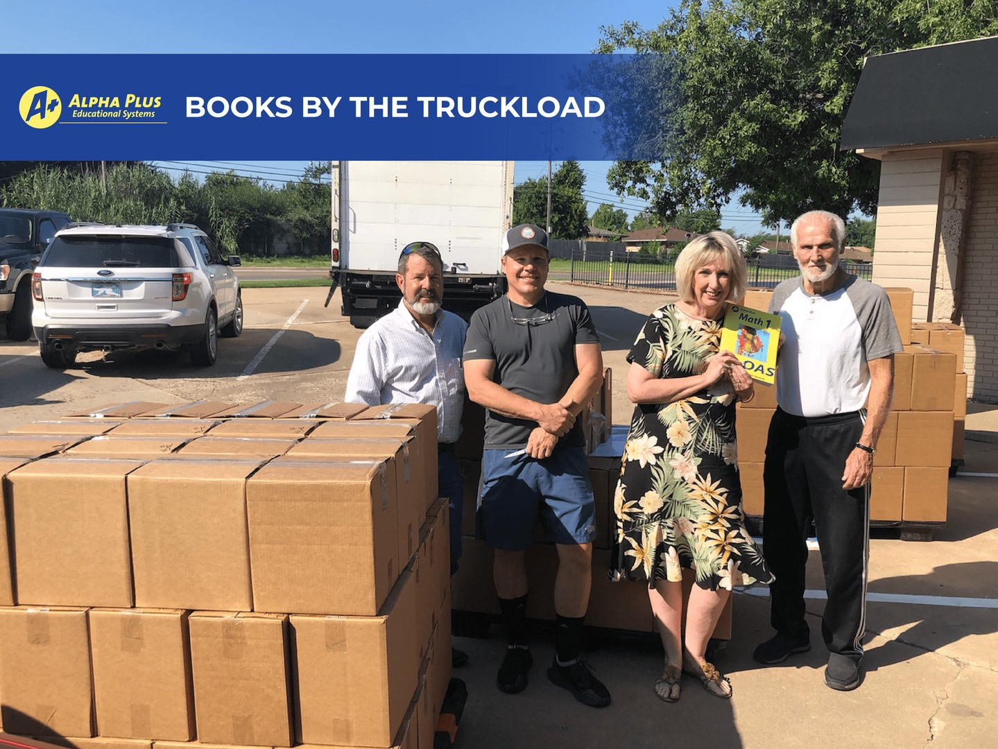 A Plus Books by the truckload