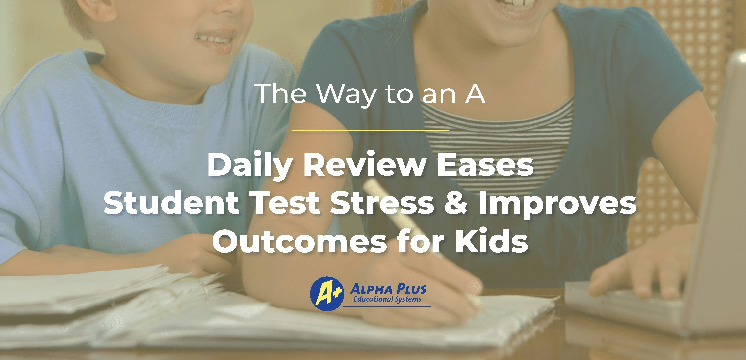 Daily Review Eases Student Stress