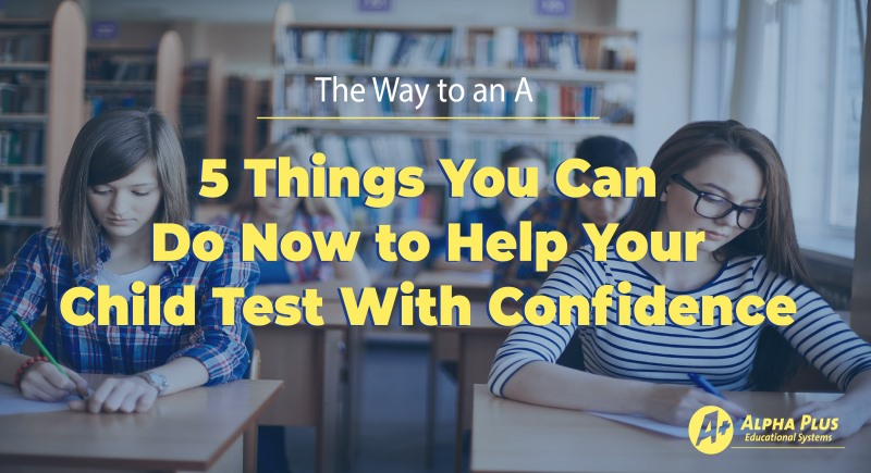 AP 5 things for test confidenceSM